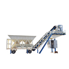 aggregate mixing plant best sale YHZS25 mini mobile concrete batching plant with automatic control