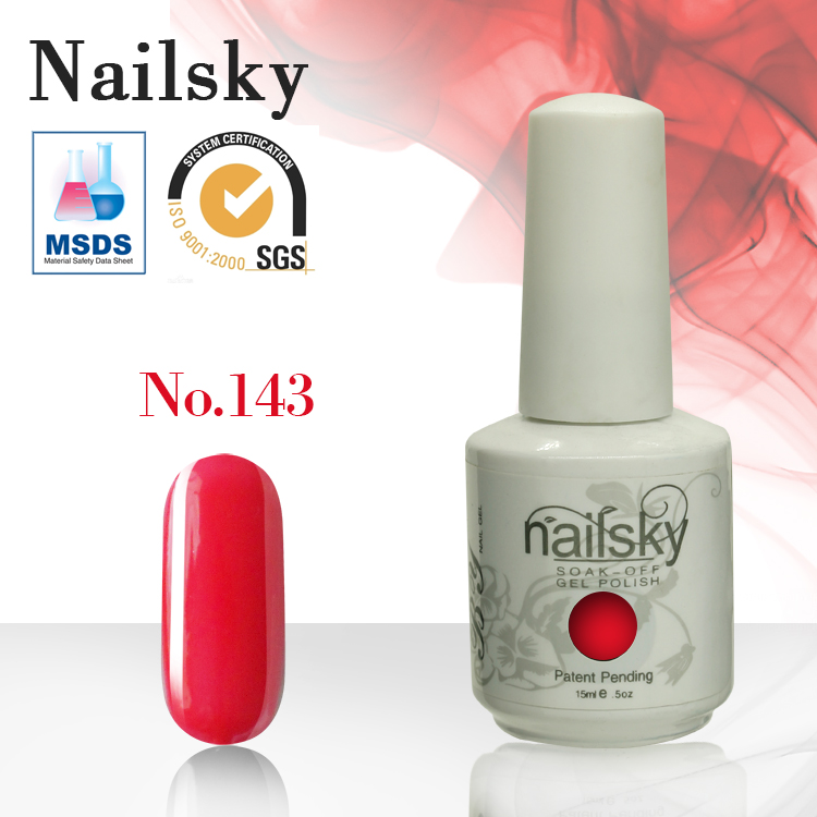 Nailsky professional wholesale nail polish gel 150colors uv nail gel polish with MSDS