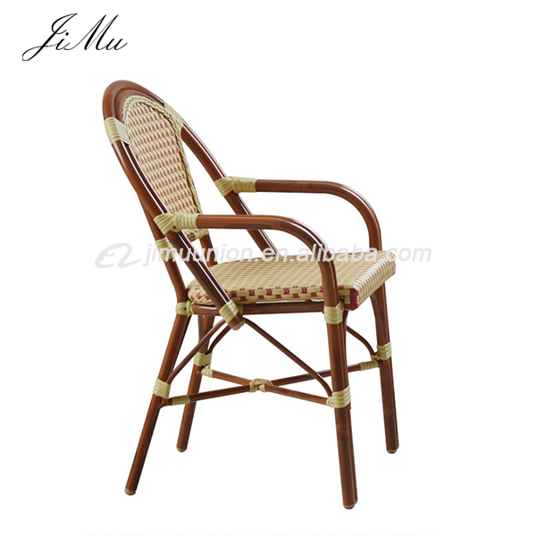 Outdoor Rattan Bamboo Cafe Restaurant Furniture Garden Wicker Chair Chairs