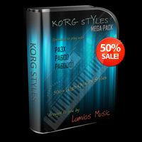 Korg Pa600 / Korg Pa600qt / Korg Pa3x Styles Mega Pack (511 Korg ...