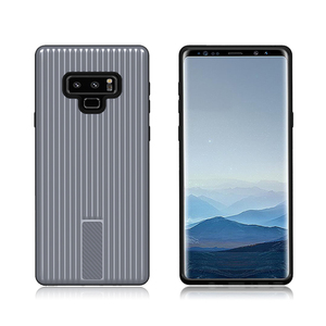 Factory Price classic stripe design 2 in1 shockproof Case For Samsung Galaxy NOTE 9