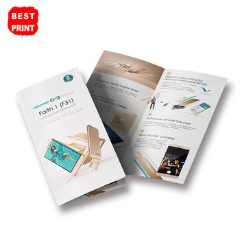 A5 Size Double Sides Printing Custom Design Leaflet Flyer Service