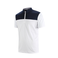 professional 100% polyester custom made polo t shirt with OEM brands/logos
