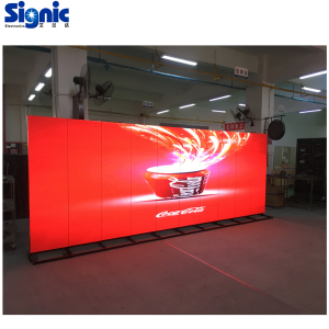 New HD Iposter indoor P2.5 P3-Led advertising screen floor standing LED poster display