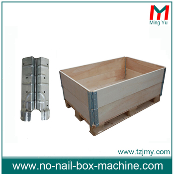 Industrial Metal Hinges For The Plywood Pallet Collars