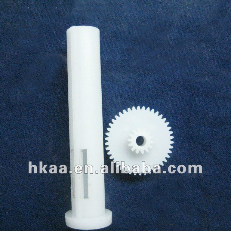 precision plastic gears and shaft