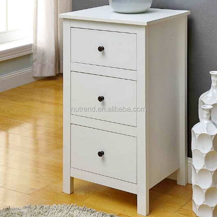 Modern Mini wood storage chest of drawers design for bedroom