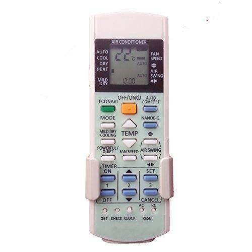 YING RAY Replacement for Panasonic Air Conditioner Remote Control Model Number: A75c2998