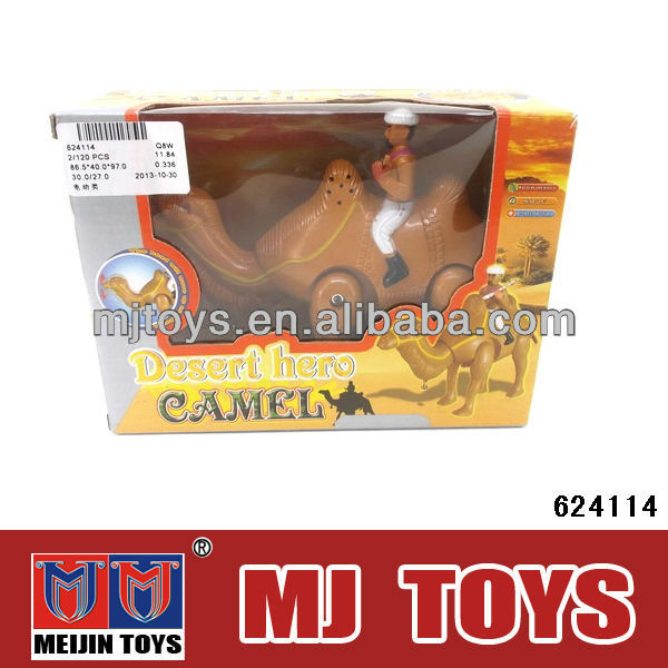 Hot B/O camel toys Musical and flash plastic toy camels