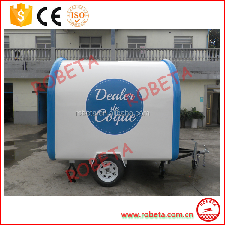 Mobile Ice Cream trailer/fast food kiosk franchise