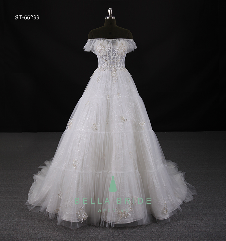 Guangzhou Factory New Wedding Dresses Pictures White Lace Wedding ...