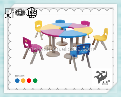 China factory directly supply cheap used daycare furniture kids tables chairs for children