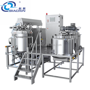 500L High Speed Industrial Vacuum Emulsifying Mixer For Paste Cream Toothpaste
