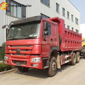 Sino Truck Used 336HP HOWO 10 Wheels Dump Truck Tipper 6X4 with Good Condition for Africa