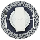 Placemat Round Placemats Border Braid Paisley Pp Round Placemat For Home Or Restaurant Use