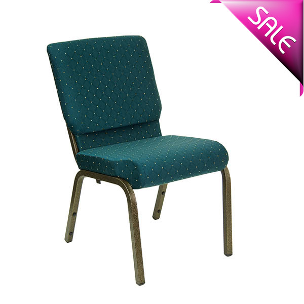 factory price interlocking church chair with bookrack