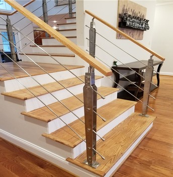 Stainless Steel Rod Interior Stairs Railing Designs Buy Interior