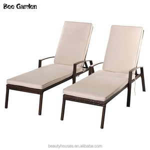 Modern style Fashion Design Outdoor Furniture Rattan Chaise Lounge/Beach/Lying Chair