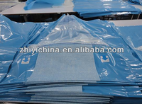 Good quality large customized consumable qualified disposable under buttock drape with fluid pouch