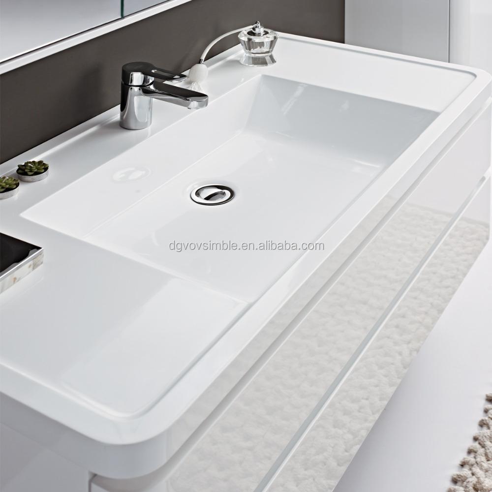 Restaurant Washroom Sink Toilet Bathroom Building Materials Solid Surface Wash Basin