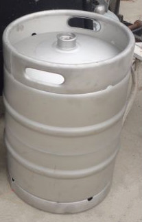 Din beer fermenting buckets 50L with A coupler