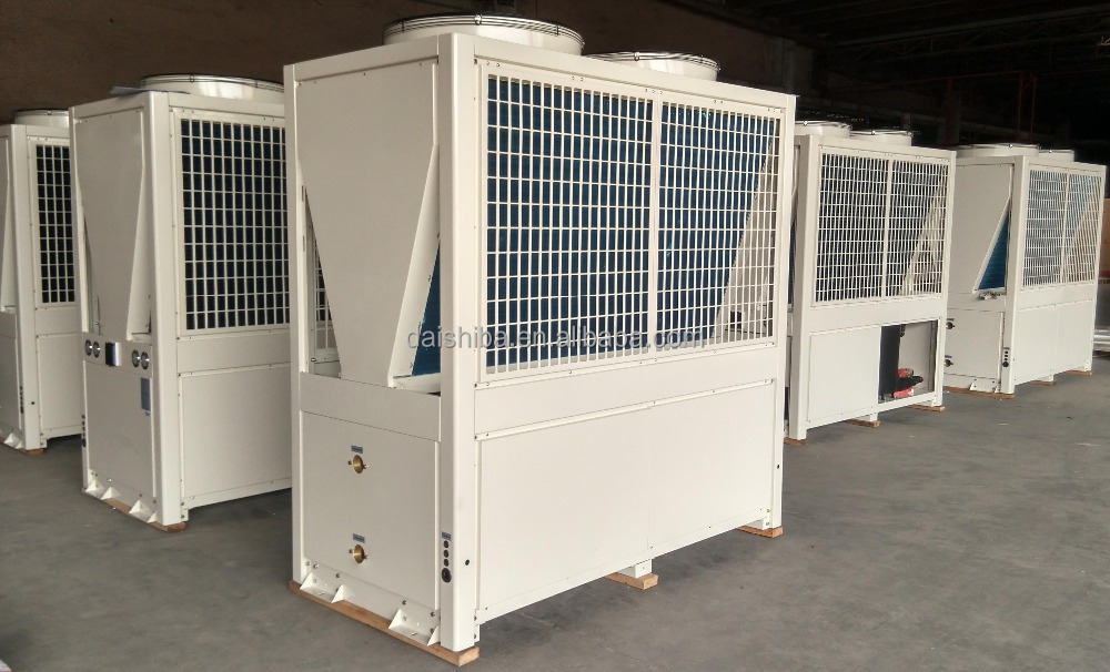 Commercial EVI heat pump for low temperature area