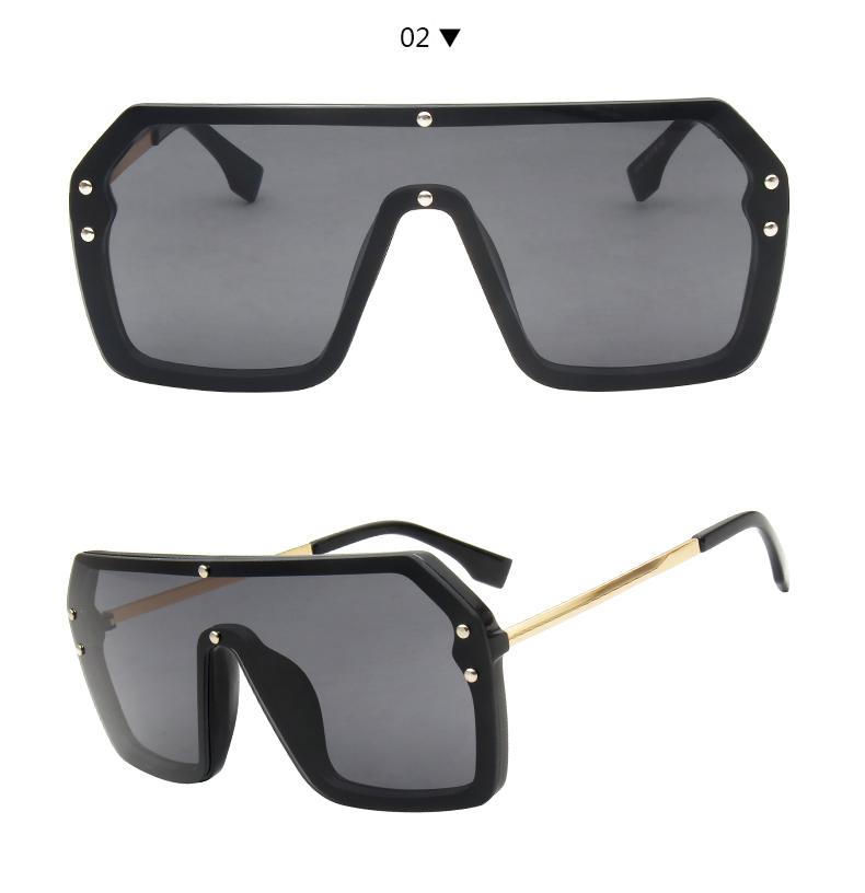 Grossiste lunettes de soleil à verre rouge pour les hommes