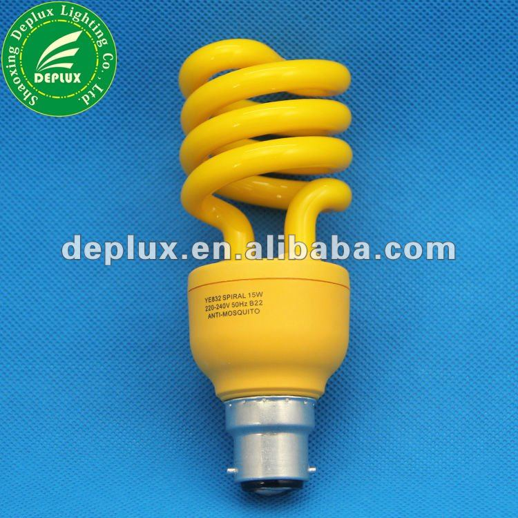 /b22 e27 insetto killer anti - zanzare repellente lampade cfl 15w