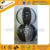 New black color bumper ball bubble football TB075