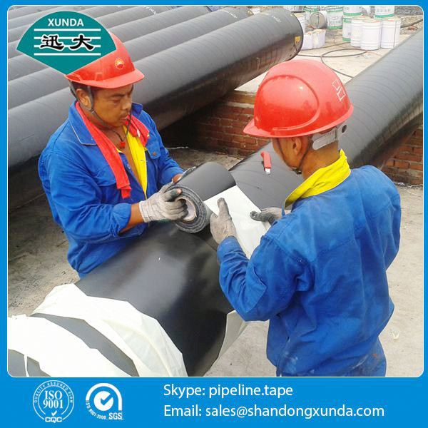 joint wrapping china xunda pipe wrap tape for underground pipe
