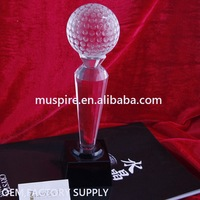 Factory supply hot-sale blank crystal glass trophy award