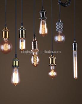 Gross Kaufen Aus China Lampe Halter Armaturen Retro Lampenfassung E27