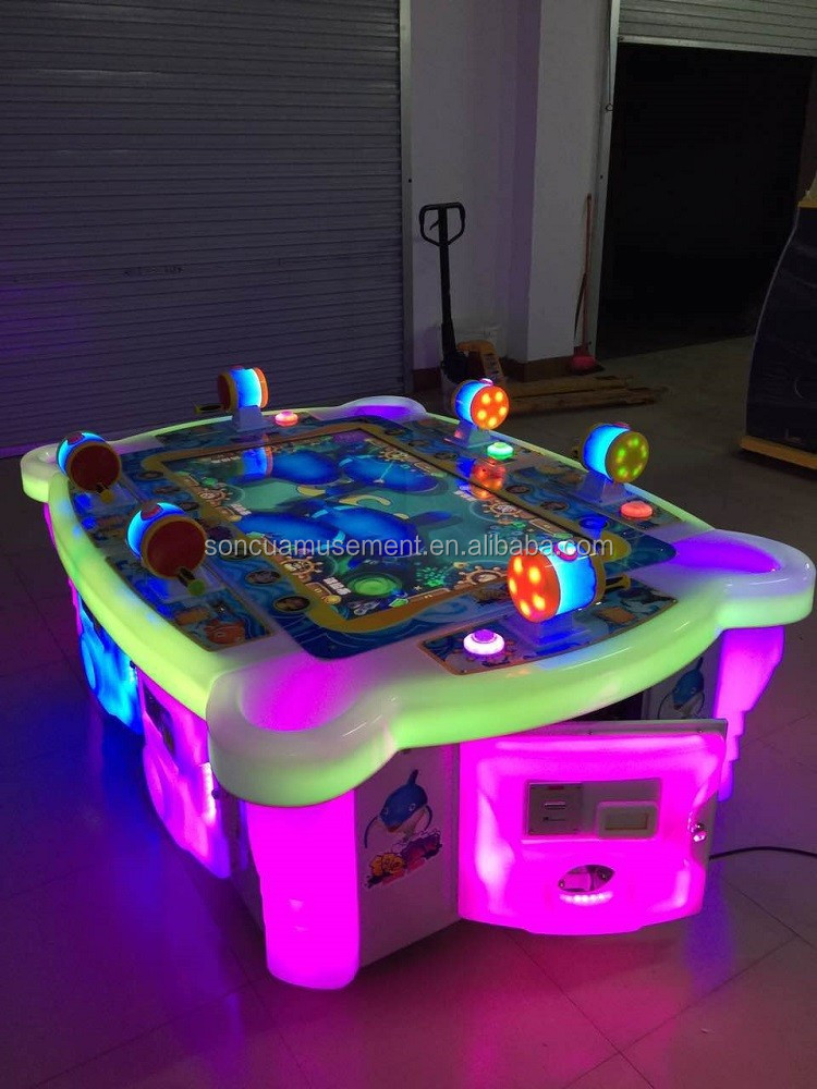 Indoor playground equipemnt arcade fishing game machines for Arcade fishing games