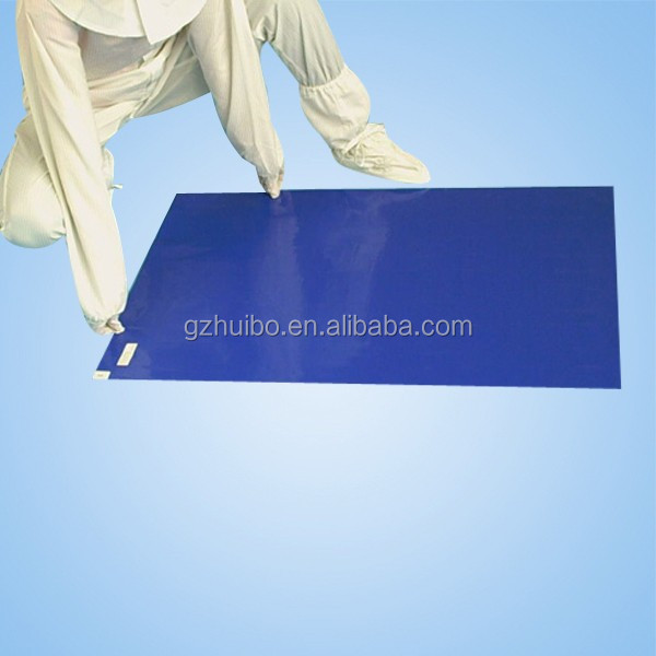24x36 inches disposable peelable cleanroom sticky mat
