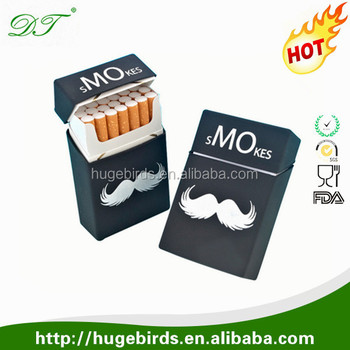 Various Colors Make Your Own Design Custom Silicon Cigarette Case