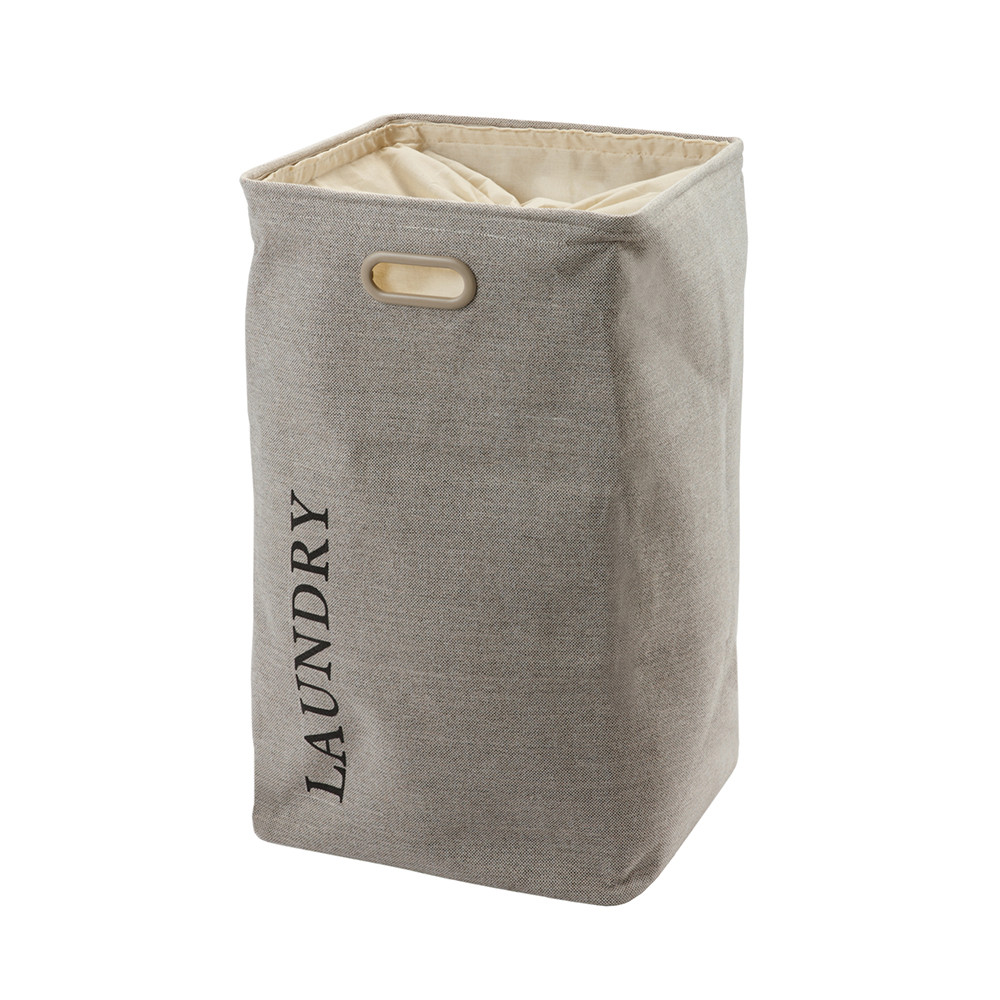 Top Quality Folding Dirty Cloth Laundry Basket Bin With Drawstring