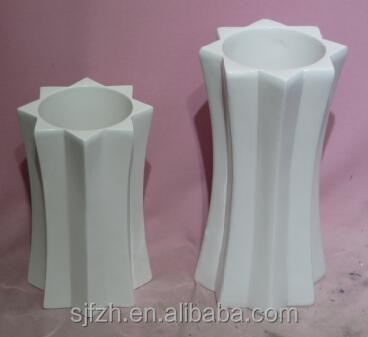 2015 Shengjie SJ-012012 high quality flower decoration fiberglass vase