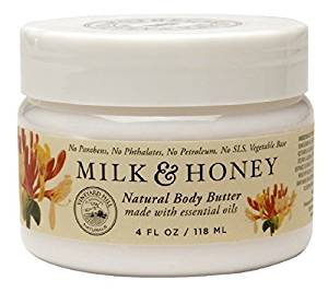 Vineyard Hills Body Butter, Milk and Honey, 4 Fluid Ounce