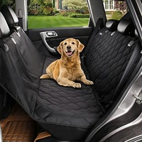 Waterproof Quilted Travel Pet Dog Car Back Seat Cover Hammock