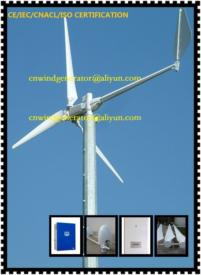 Wind Turbine System : Horizontal axis kw wind turbine kit with v system buy