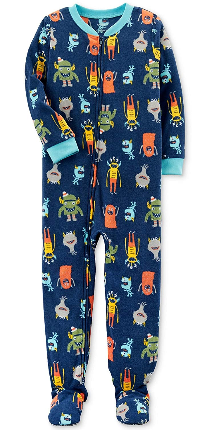 eff965911 Buy Faded Glory Boys Footed Blanket Sleeper Pajama in Cheap Price on ...
