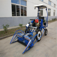 Mini rice paddy cutting machine in India with cheap price / rice combine harvester