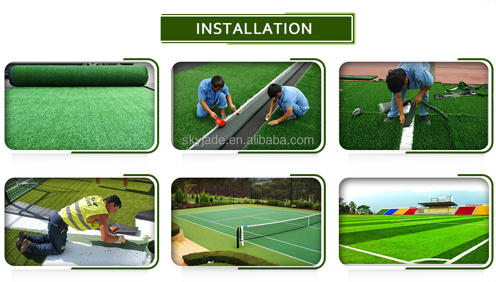 Uv Resistant Natural Looking Indian 30mm Garden Artificial Turf Grass Cheap Carpet