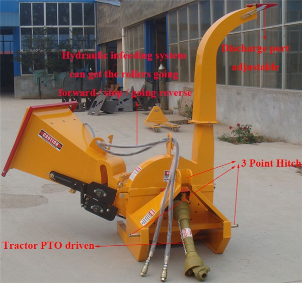 China manufacturer good quality drum wood chipper
