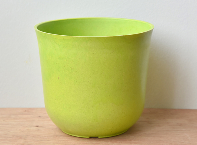 Cheap Small Colored Biodegradable Plant Fiber Flower Pot