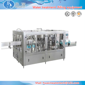 Automatic 1000-2000BPH 1 liter water bottle filling machine With RO water system