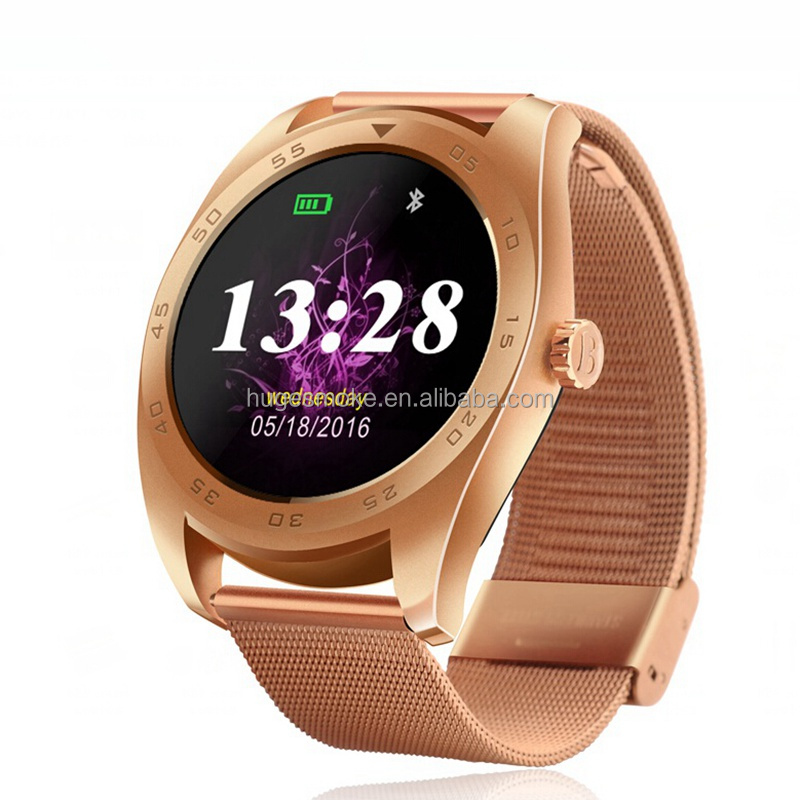 The New Premium Digital K89 KW88 Smart Watch with Heart Rate Monitor, ce rohs Bluetooth smart Watch for IOS