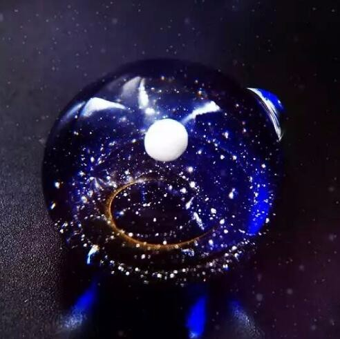 Galaxy Glass Ball