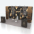 fashionable trade show shoe display stands portable moodular booth