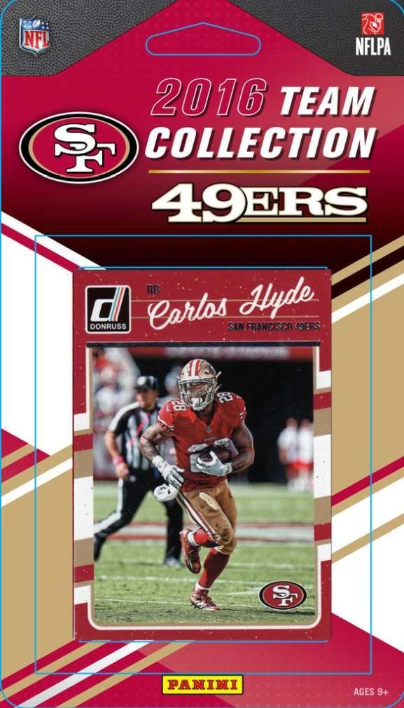 NFL San Francisco 49Ers 2016 Donruss NFL Team Set - San Francisco 49Ers, black, Small
